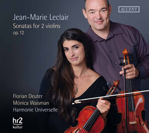 Leclair: Sonatas for 2 Violins, Op.12