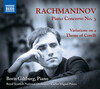 Rachmaninoff: Piano Concerto No.3; Variations on a Theme of Corelli