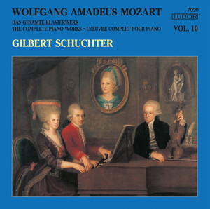 Mozart: The Complete Piano Works, Vol.10