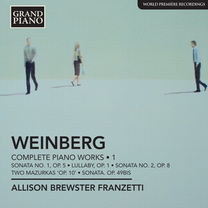 Weinberg: Complete Piano Music, Vol.1
