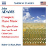 John Adams: Complete Piano Music