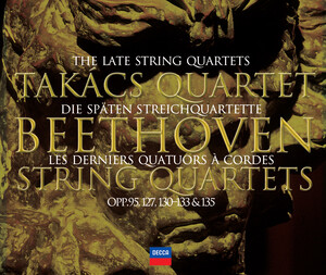 Beethoven: The Late String Quartets, Op.95, 127, 130, 131, 132, etc.