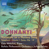 Dohnanyi: Variations on a Nursery Song