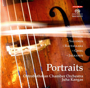 Portraits: Works for Strings by Nordgren, Bruch, Bartók, etc.