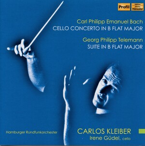 C.P.E. Bach: Cello Concerto in B-Flat Major; Telemann: Suite in B-Flat Major