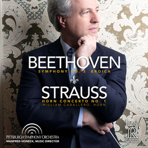 Beethoven: Symphony No.3, Op.55 'Eroica'; Strauss: Horn Concerto No.1, Op.11 (Live)