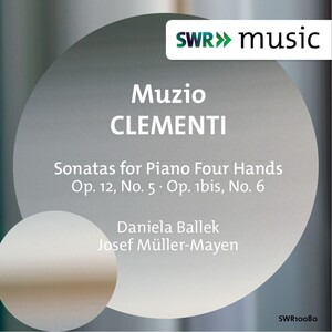 Clementi: Sonatas for Piano Four Hands