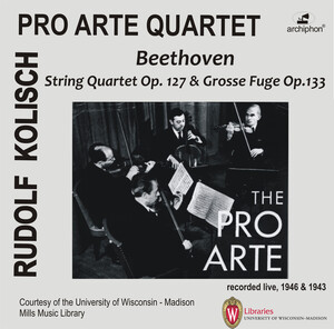 Beethoven: String Quartet No.12, Op.127 and Große Fuge, Op.133