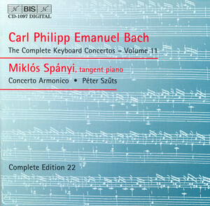C.P.E. Bach: The Complete Keyboard Concertos, Vol.11