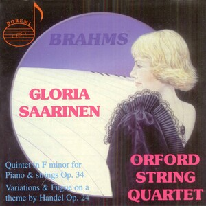 Brahms: Quintet in F minor; Variations and Fugue on a theme by Handel