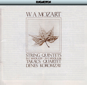 Mozart: String Quintets No.3 and 4