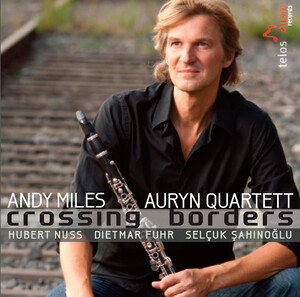 Crossing Borders: Clarinet Works by Monk, Piazzolla, Kuhn, etc.