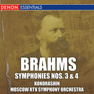 Brahms: Symphonies No.3 and 4