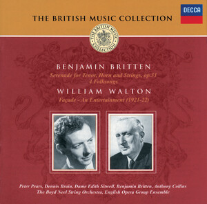 The British Music Collection: Benjamin Britten and William Walton