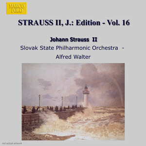 J. Strauss Jr. Edition, Vol. 16