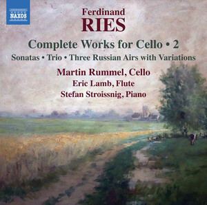 Ries: Complete Works for Cello, Vol.2