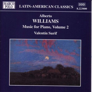 Williams: Music for Piano, Vol. 2