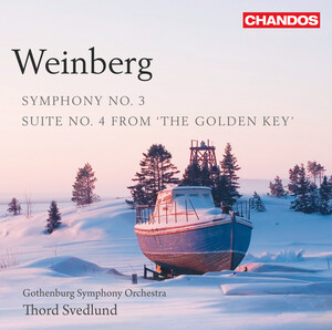 Mieczyslaw Weinberg: Symphony No. 3 & Suite No. 4 from 'The Golden Key'