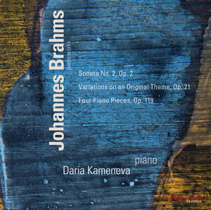 Johannes Brahms: Sonata No.2; Variations on an Original Theme; Four Piano Pieces