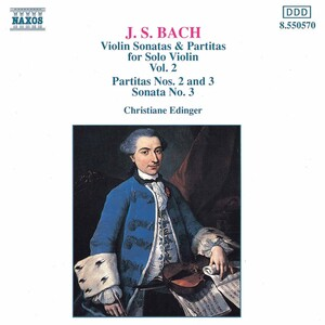 J.S. Bach: Violin Sonatas and Partitas, Vol.2