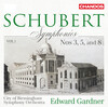 Schubert: Symphonies, Vol.1, No.3, 5 and 8