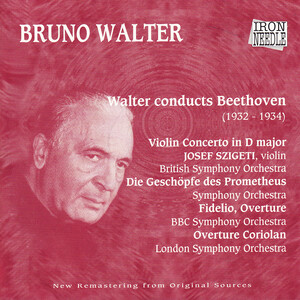 Walter Conducts Beethoven
