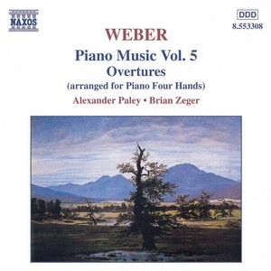 Weber: Piano Music Vol.5, Overtures
