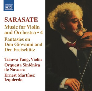Sarasate: Music for Violin and Orchestra, Vol.4