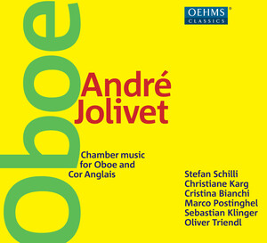 Jolivet: Chamber Music for Oboe and Cor Anglais