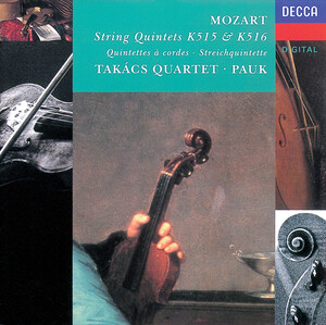 Mozart: String Quintet Nos.2 and 3, K.515 and K.516