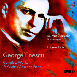 Works for Violin, Viola and Piano by Enescu