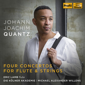 Quantz: 4 Concertos for Flute and Strings
