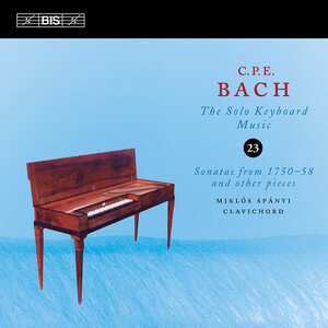 C.P.E. Bach: Keyboard Music, Vol. 23