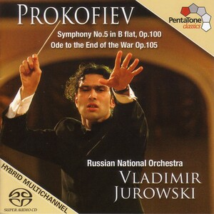 Prokofiev: Symphony No.5; Ode to the End of the War