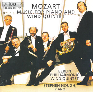 Mozart: Music for Piano and Wind Quintet