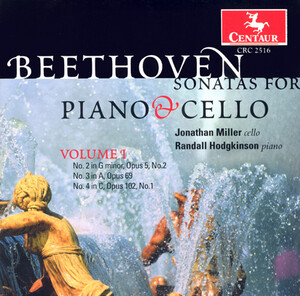 Beethoven: Sonatas for Piano and Cello, Vol.1