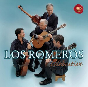 Celebration: Los Romeros Guitar Quartet plays Villa-Lobos, Tárrega, Bach, etc.