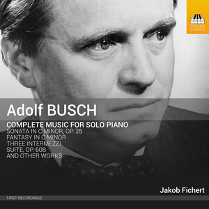 Busch: Complete Music for Solo Piano