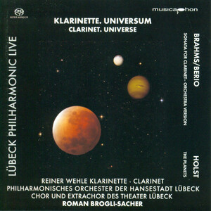 Clarinet. Universe: Works by Brahms and Holst