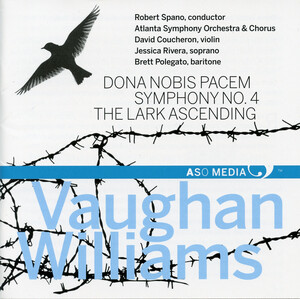 Vaughan Williams: Dona nobis pacem, Symphony No.4 and The Lark Ascending
