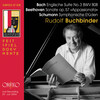 Bach, Beethoven and Schumann: Piano Works (Live)