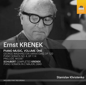 Krenek: Piano Music, Vol.1