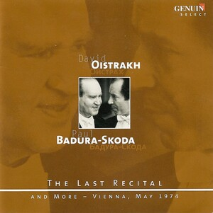 Violin Recital: Oistrakh plays Mozart, Schubert and Beethoven