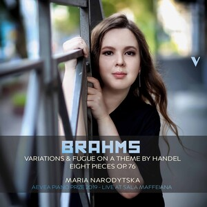 Brahms: 25 Variations and Fugue on a Theme by Handel, Op.24 and 8 Piano Pieces, Op.76 (Live)