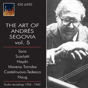 The Art of Andrés Segovia, Vol.5