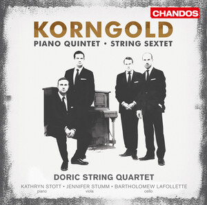 Korngold: String Sextet; Piano Quintet