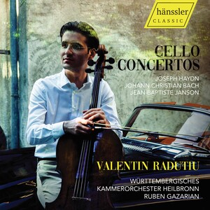 Haydn, Bach and Janson: Cello Concertos