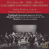 Columbia University Orchestra Plays Copland, Mozart and Poulenc