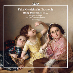 F. Mendelssohn: String Symphonies, Vol.3 (arr. for strings and piano)