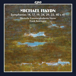 Michael Haydn: Symphonies 14, 17, 19, 24, 29, 33, 40, and 41
